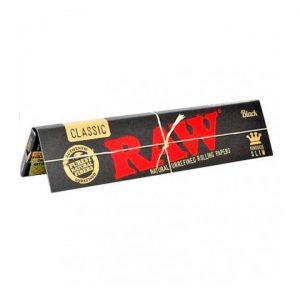RAW | Black Kingsize Slim Rolling Papers