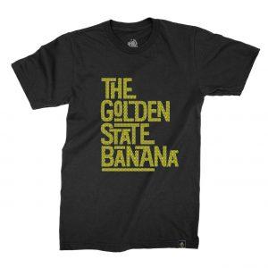 Golden State Banana | Checkered T-Shirt