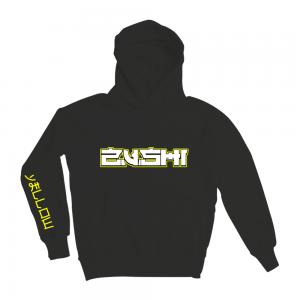 Yellow Zushi | Hoodie in Black