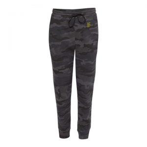 Golden State Banana | POWELL Black Camo Sweatpants