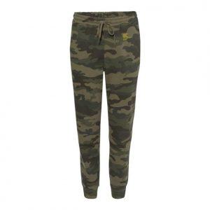 Golden State Banana | POWELL Green Camo Sweatpants
