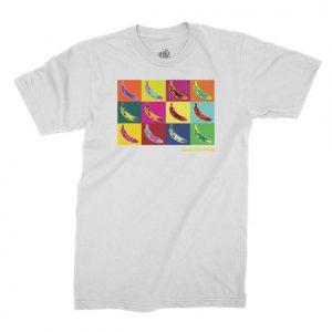 Golden State Banana | WARHOL T-Shirt in White