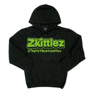 Zkittlez | Green Hoodie