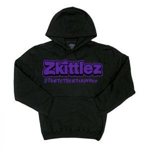 Zkittlez | Purple Hoodie