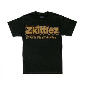 Zkittlez | Gold T-shirt