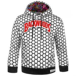 Backwoods | White N' Black Hoodie