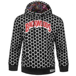 Backwoods | Black N' White Hoodie