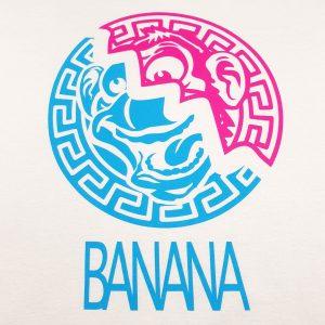 Golden State Banana | Aztec Warrior T-Shirt in White