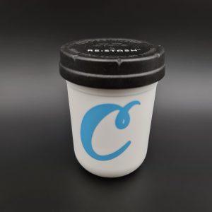 Re:stash Jar | 8oz Cookies – White