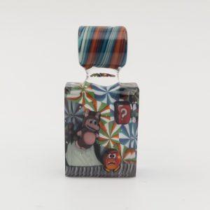 Micro Workshop X Disk Glass | Tanooki Mario Pendy