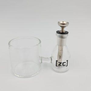 ZC Glass | ISO Dispenser + Swab Station