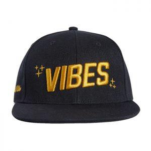 VIBES | Snapback Cap | Black