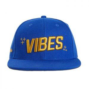 VIBES | Snapback Cap | Blue