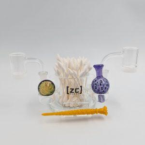 ZC Glass | Complete Dabbing Station