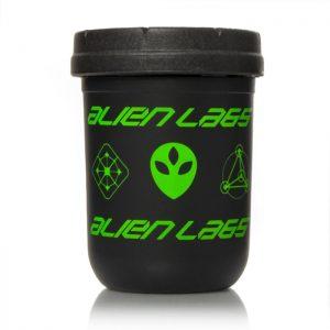 Re:stash Jar | 8oz Alienlabs | Black & Green
