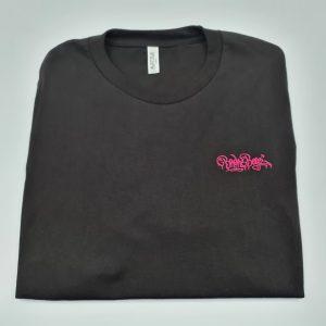 Broke Boyz | Black T-Shirt | Pink Logo
