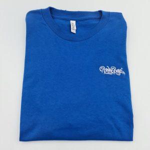 Broke Boyz | Blue T-Shirt | White Logo