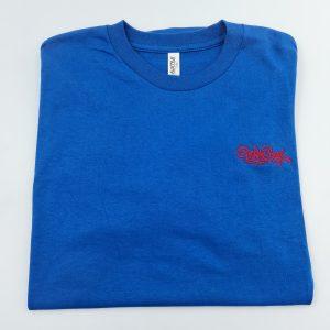 Broke Boyz | Blue T-Shirt | Red Logo