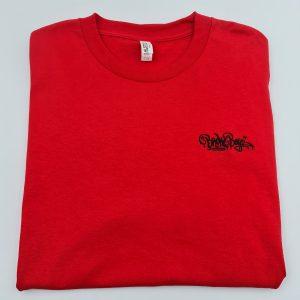 Broke Boyz | Red T-Shirt | Black Logo