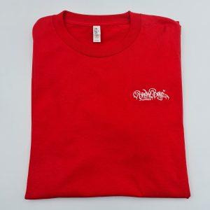 Broke Boyz | Red T-Shirt | White Logo