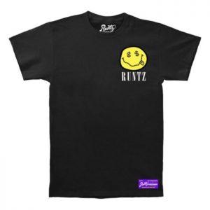 Runtz | Smiley Face T-Shirt | Black