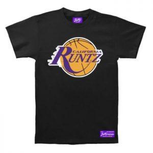 Runtz | LA Basketball T-Shirt | Black