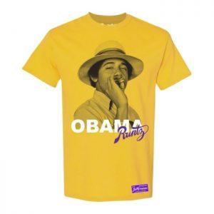 Runtz | Obama T-Shirt | Yellow