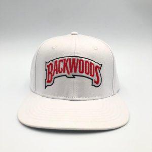 Backwoods | Snapback Cap | White