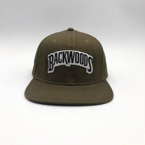 Backwoods | Snapback Cap | Olive Green
