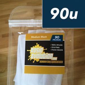 Rosin Evolution | Rosin Press Bags | 90 micron – 2×3″