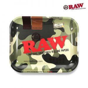 RAW | Camo Rolling Tray | Medium